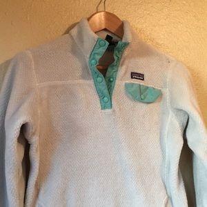 Patagonia fleece pullover girls size XL 14